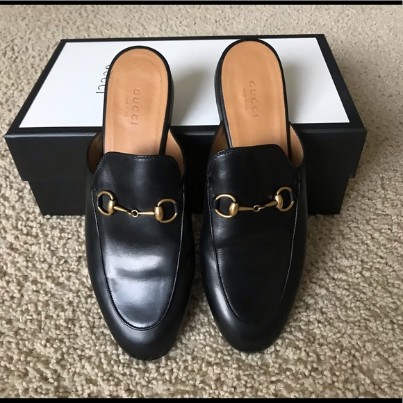 a26362f31 Gucci Shoes | Princetown Mules Loafers | Poshmark